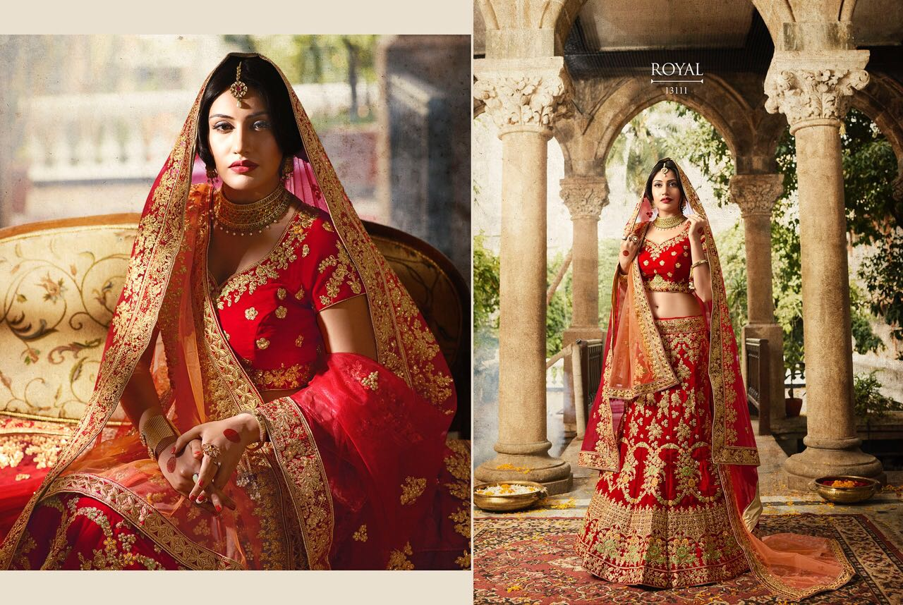Royal Bridal Lehenga Blouse v29