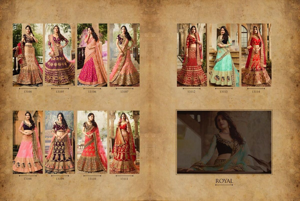 Shop Royal Bridal Lehenga Blouse v29 Online