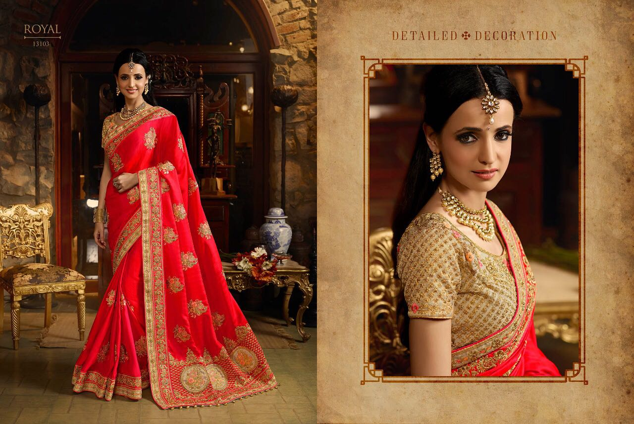 Royal Bridal Sarees Vol 27