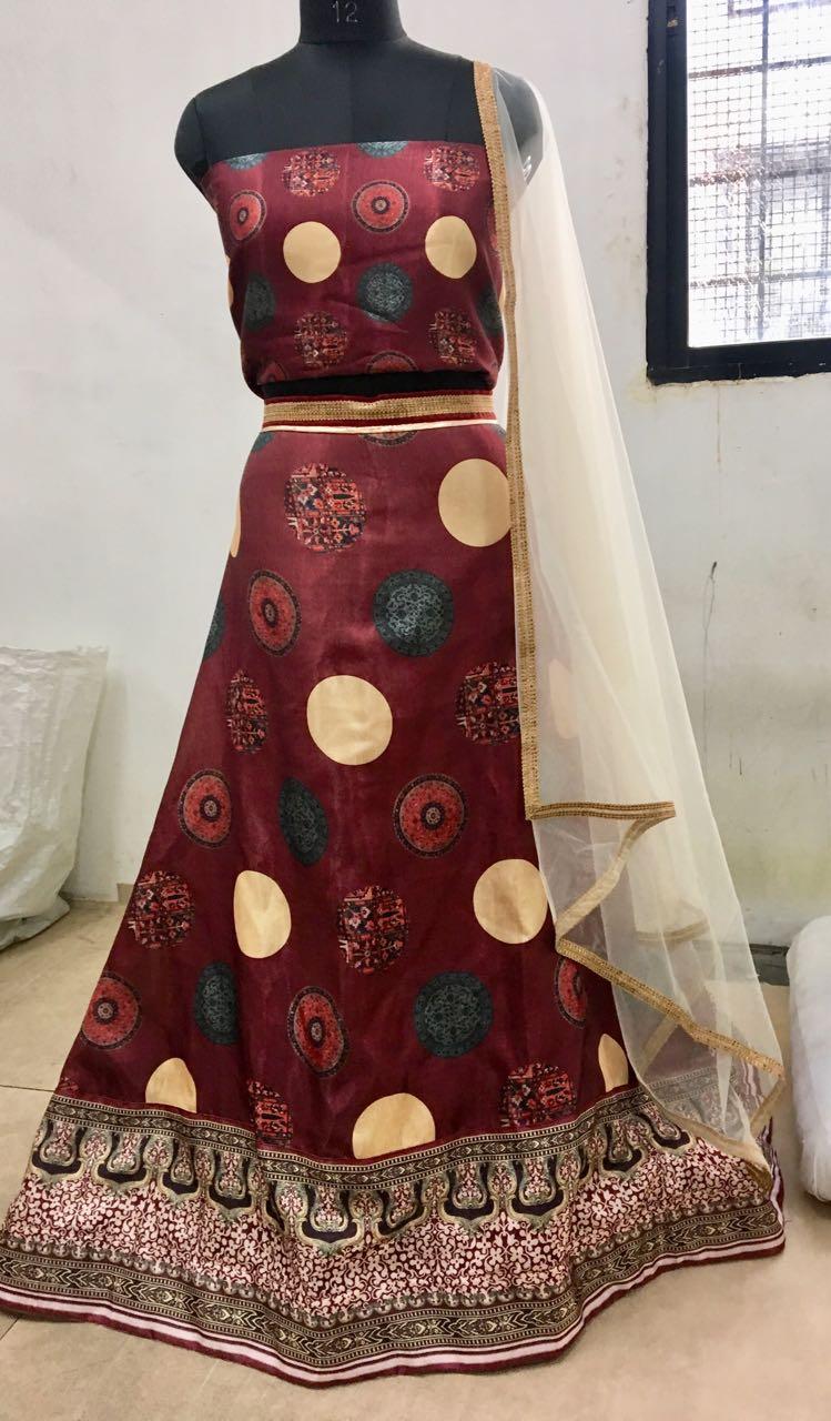 Shilpa Shetty Lehenga Blouse BT-169 Replica