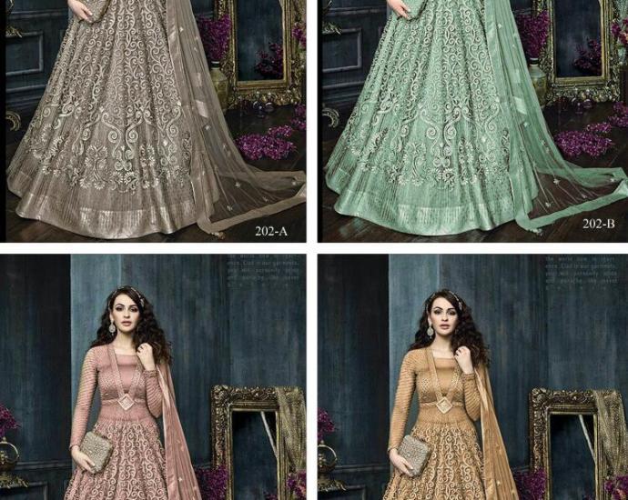Zoya Floor Length Anarkali Suit 202