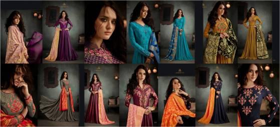 Arihant NX Rizwana Readymade Floor Length Salwar Suits with Dupatta