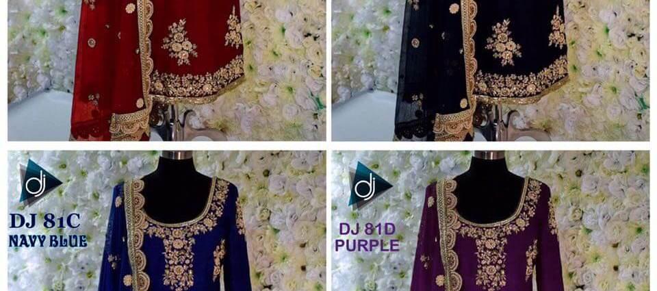 Shop Deep Jyoti Creation Punjabi Salwar Suit DJ 81 ABCD Online