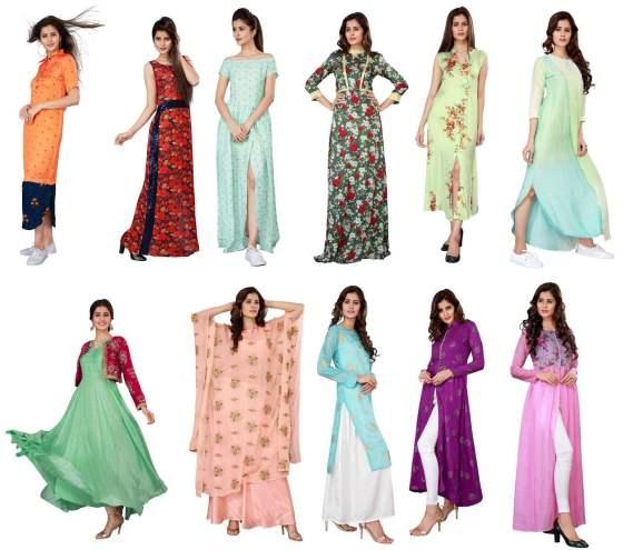 Komal Designer Indo Western Gowns