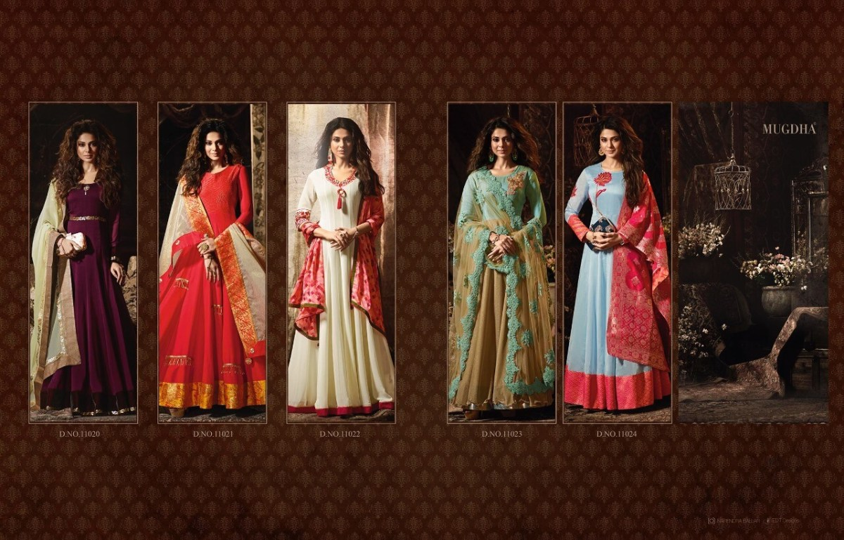 Shop Mugdha Premium 2 Anarkali Floor Length Salwar Suits Online