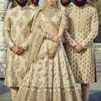 Shop Sabyasachi Bridal Lehenga Blouse Replica Online