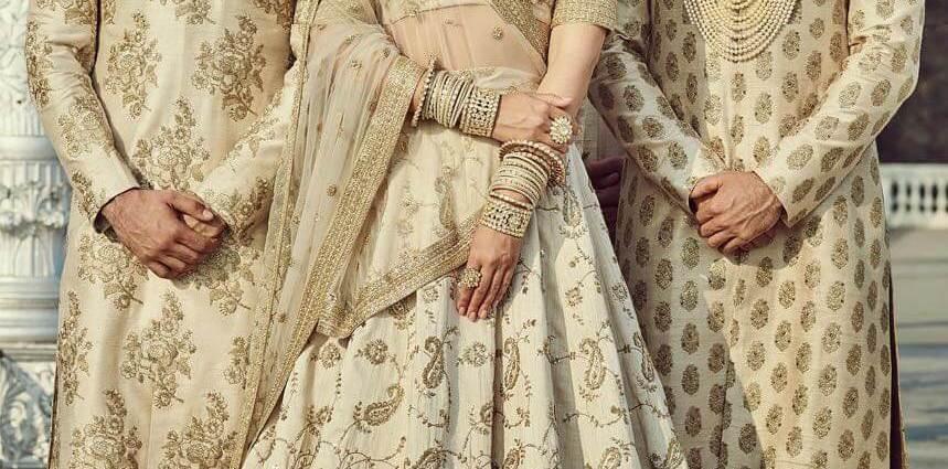 Sabyasachi Mukherjee Bridal lehenga 801