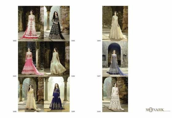 Monark Indo Western Salwar Suits