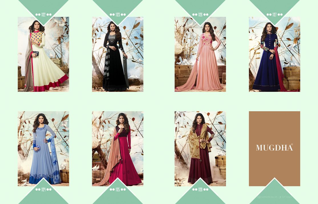 Shop Mugdha Jennifer Vol 2 Floor Length  Anarkali Suits Online