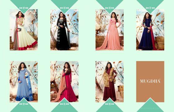 Mugdha Jennifer Vol 2 Floor Length Anarkali Suits