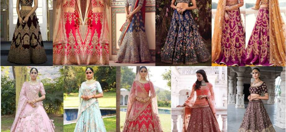 Cheap wedding dresses for Brides - Indian Bridal Lehenga Choli