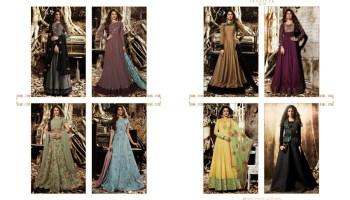 f22a9142c15 Shop Floor Length Gown Mugdha Jennifer Vol 3 Online