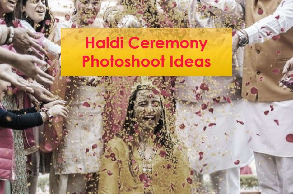38+ Must Try Haldi Ceremony Photoshoot Ideas by Raw Photography