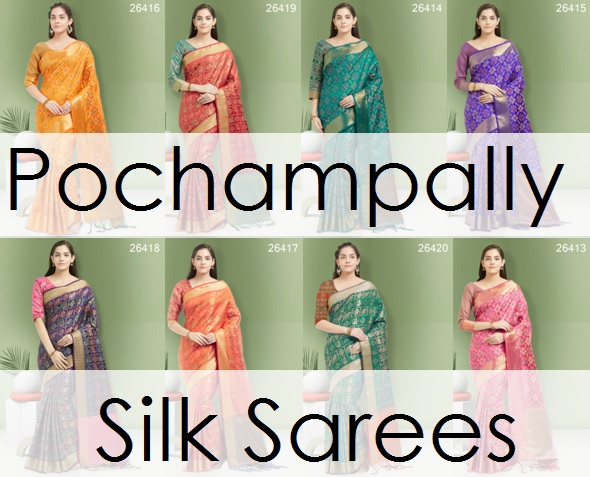 Shop Pochampally Silk Sarees Online