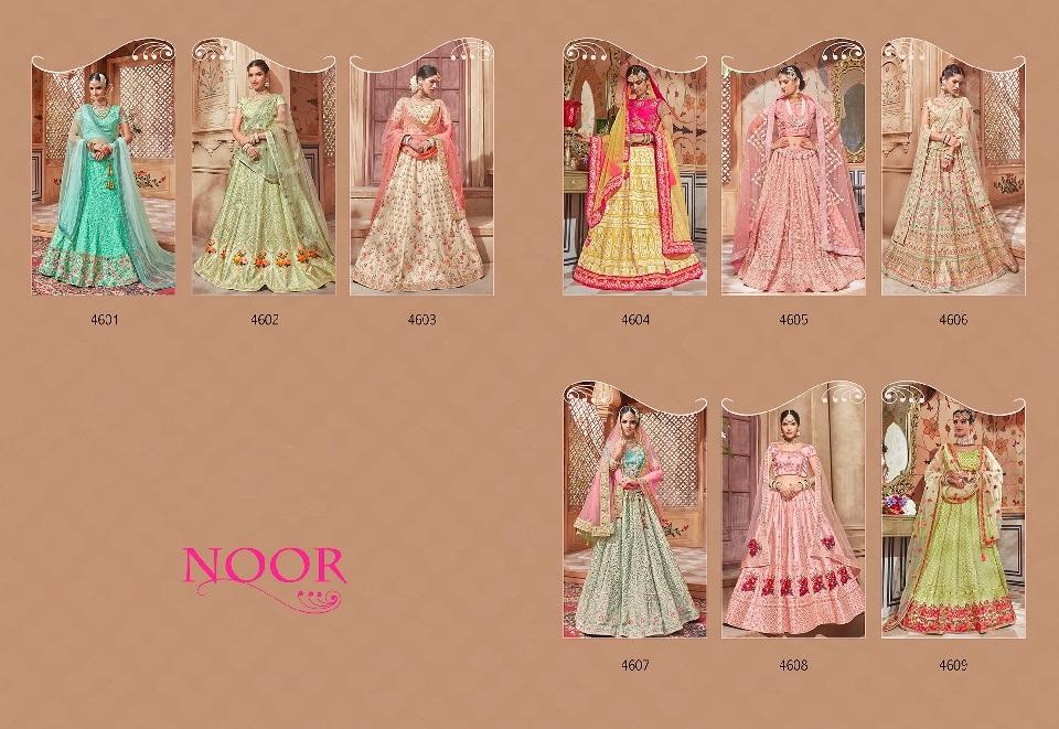 Designer Bridal Lehenga Noor