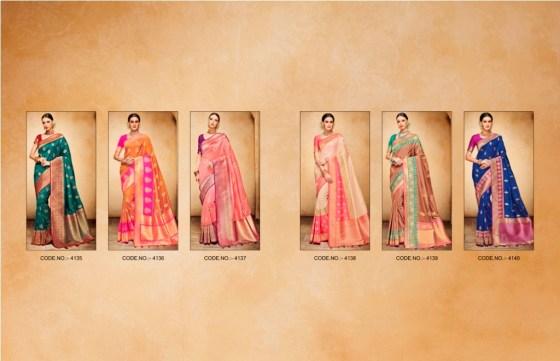 Designer Jacquard Silk Sarees Shringar Nakkashi