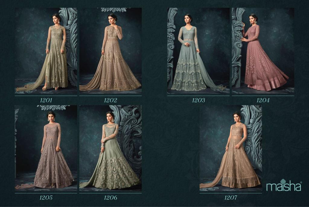 Shop Floor Length Gowns Maisha HUGS Online
