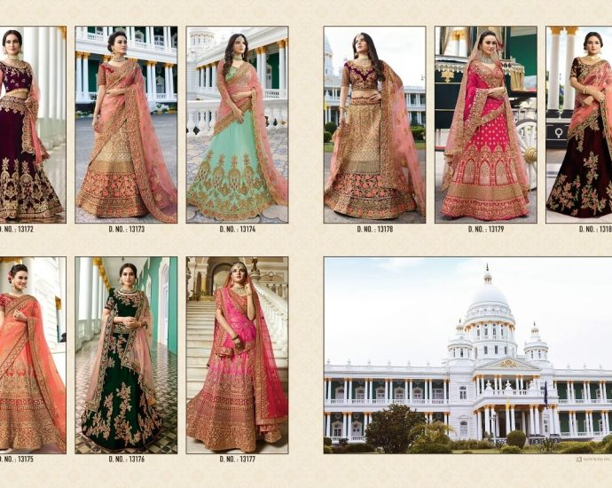 Royal Wedding Bridal Lehenga Set Virasat Vol 13