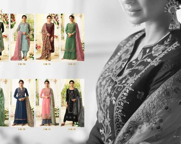 Unstitched Suits Mugdha Aafreen Vol 1