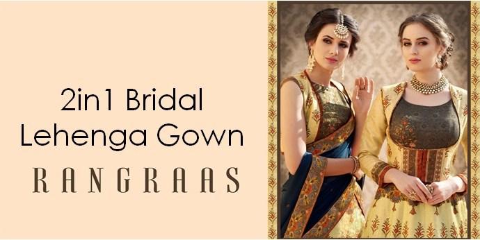 Bridal Lehenga Gown Saptrangi-Vol-5 RANGRAAS