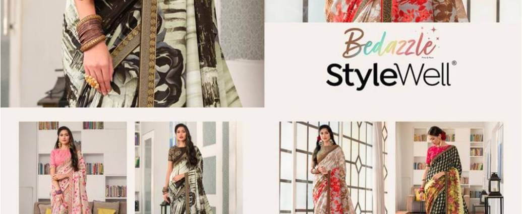PartyWear Silk Sarees StyleWell-Bedazzle