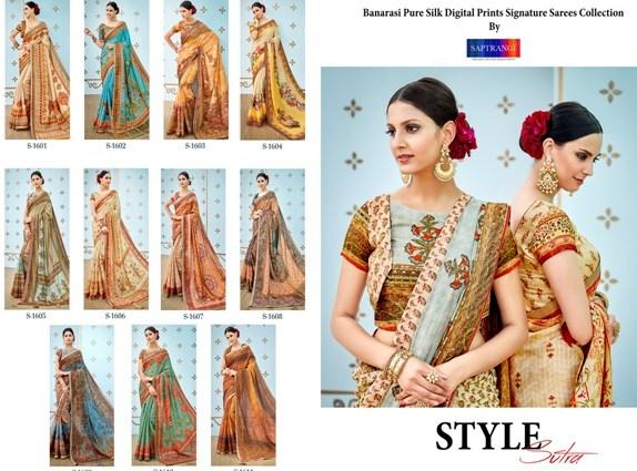 Pure Banarsi Silk Sarees Saptrangi Signature Collection