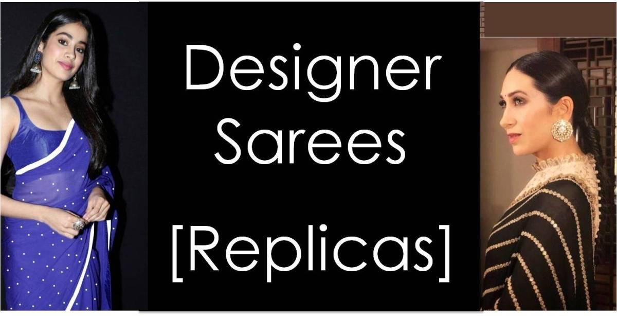 Shop Designer Sarees Replica Online