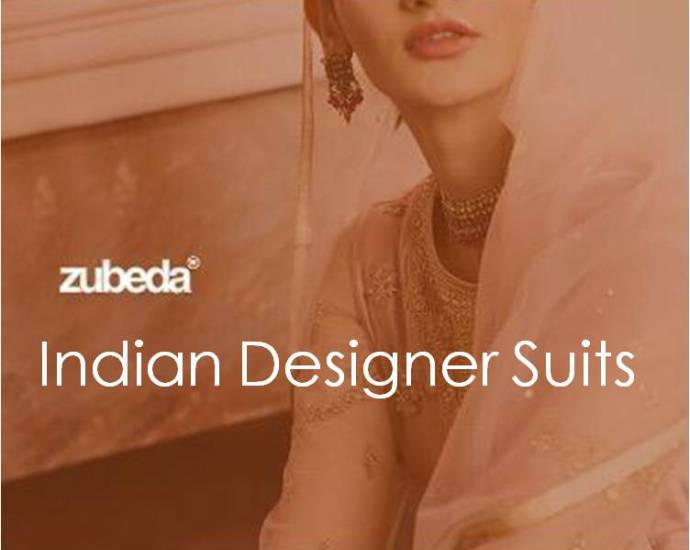 Indian Designer Suits Zubeda
