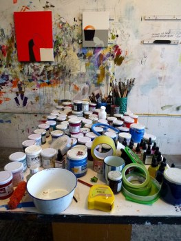 Matthew Browne's Studio. Image: Artists Alliance.