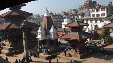 Patan from the museum