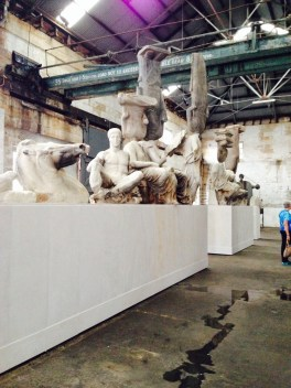 Xu Zhen (Produced by MadeIn Company) at Cockatoo Island.