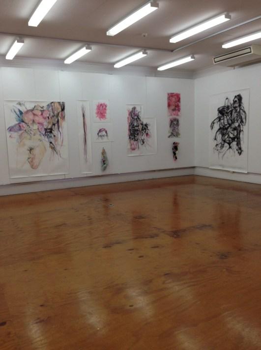 Sian Torrington, Installation view