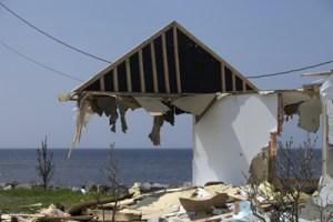 Ste-Luce Demolition © Joan Sullivan
