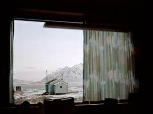 Grey Cabin in Svalbard