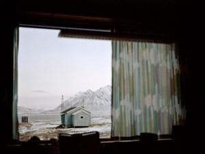 Grey Cabin in Svalbard