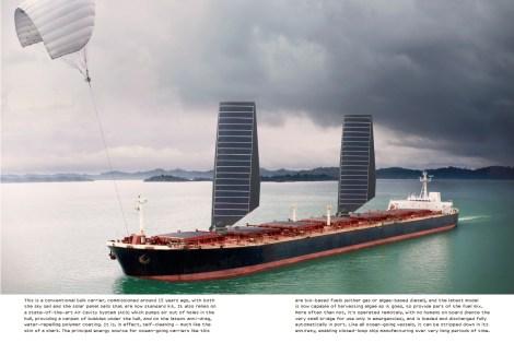 futuristic boat