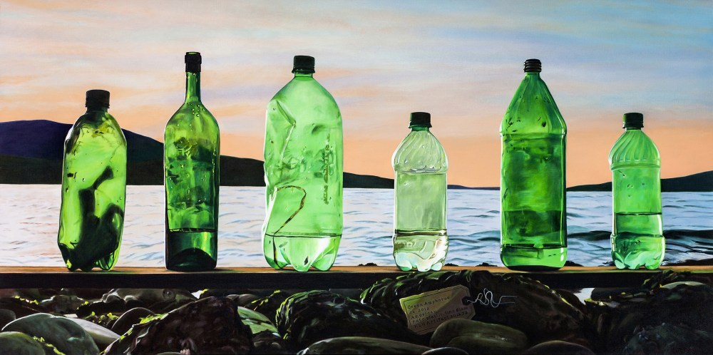 "Hackenberg_""Shades of Green; Amphorae ca. 2012""_Oil on canvas_24 x 48""_2012.jpg"