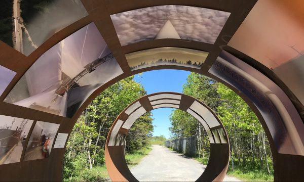 Joan Sullivan, photo, photographer, wind, energy, renewable, transition, Quebec, Jardins de Metis, Reford Garden