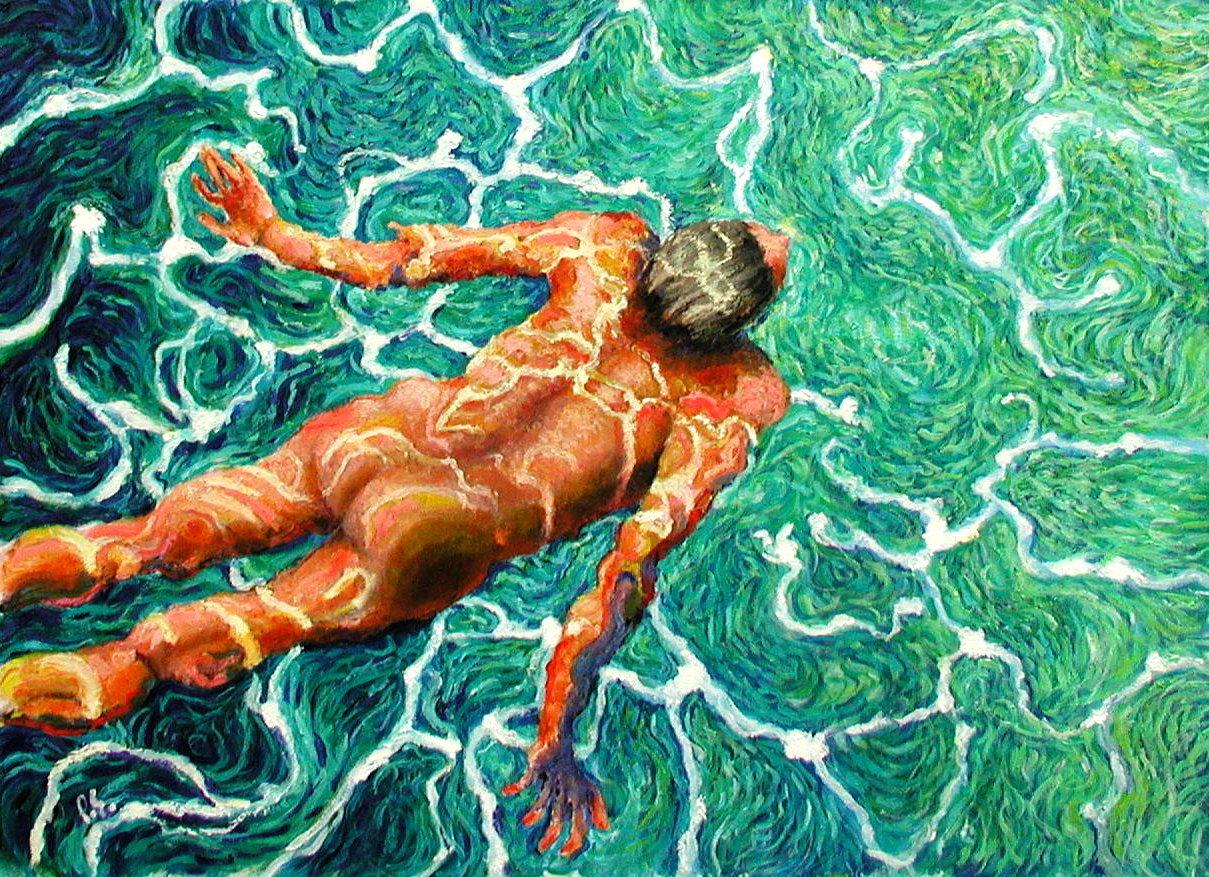 swimmer 23 30x42