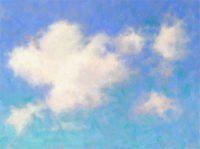 """Cloud Study 2, 6""""x6"""""""