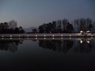 Siddah Pokhari in early evening