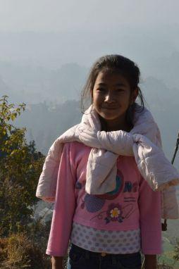 Rupali on the morning walk