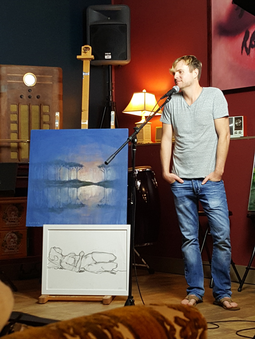 artist Aaron Sutton