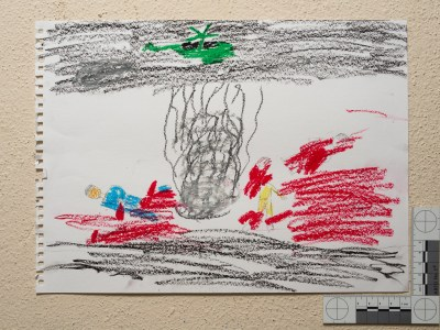 Drawing by Syrian child in Reyhanli