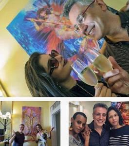 Nestas imagens,Henrique Vieira Filho empodera grandes Mulheres: uma querida personalidade da sociedade carioca, que é a Márcia Veríssimo, além de uma linda e talentosa atriz global, a Laíze Câmara e cantora Aline Wirley (Grupo Rouge)