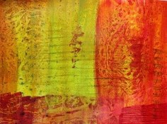 acrylic painted paper and deli paper texture