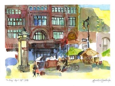 The Bay Urban Sketch
