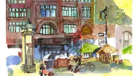 Urban Sketching Summer