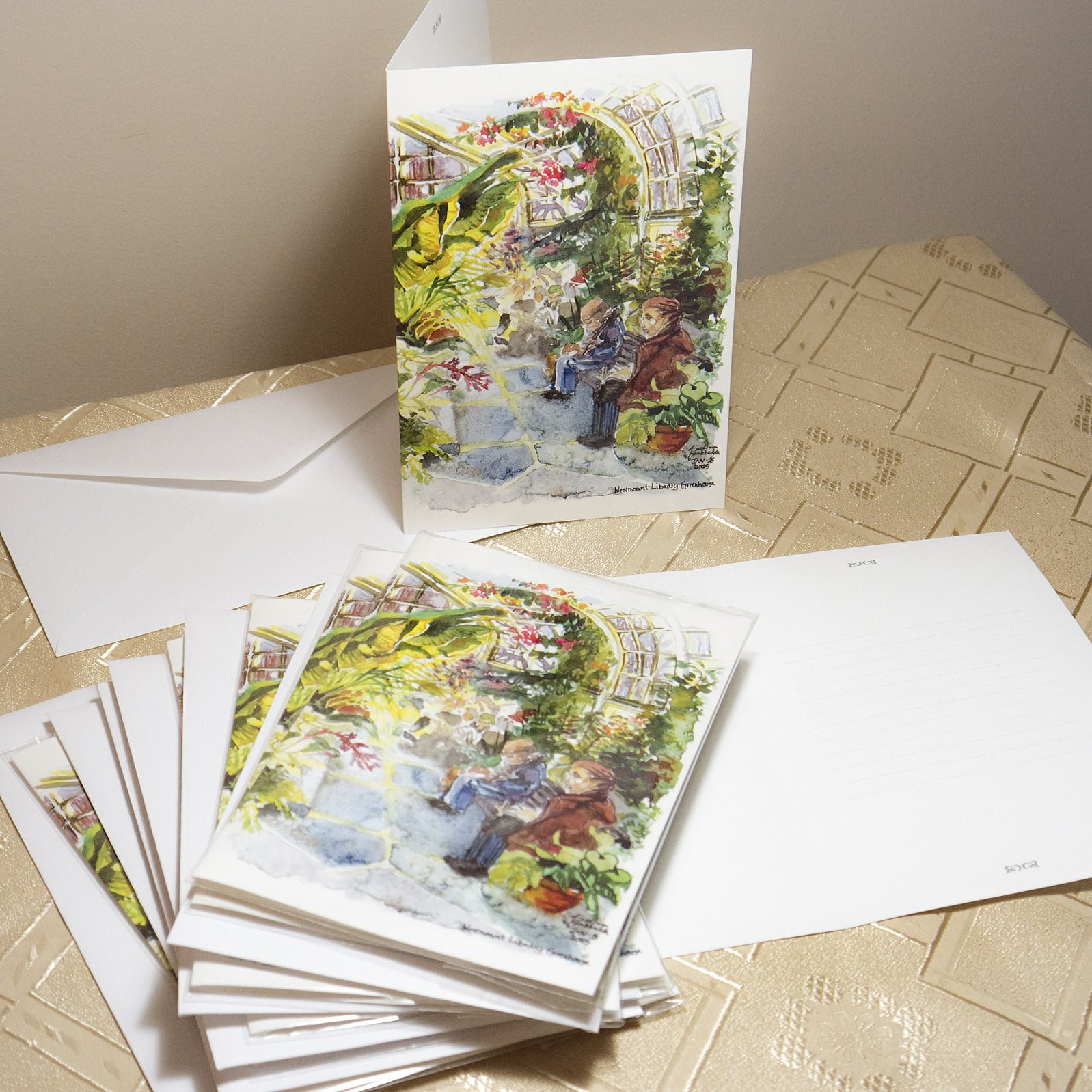 Westmount Greenhouse Greeting Cards