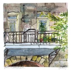 Wellington Street Balcony